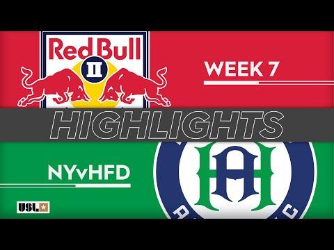 Нью-Йорк Ред Буллз-2 - Hartford 4:0. Видеообзор матча 18.04.2019. Видео голов и опасных моментов игры