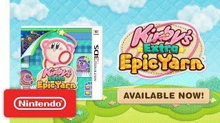 Kirby's Extra Epic Yarn - Accolades Trailer - Nintendo 3DS