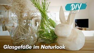 Glasgefäße Im Naturlook
