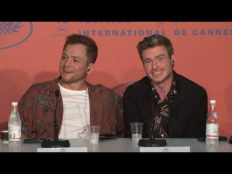 """At the press conference for Elton John biopic """"Rocketman"""" in Cannes, Scottish actor Richard Madden, who is being tipped as the next James Bond, says """"it's flattering to be involved in that conversation."""" (May 17)"""
