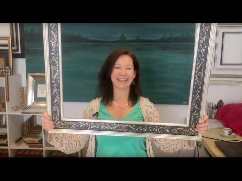 Bilderrahmen Kunst Spiegel Die Rahmenhandlung in A