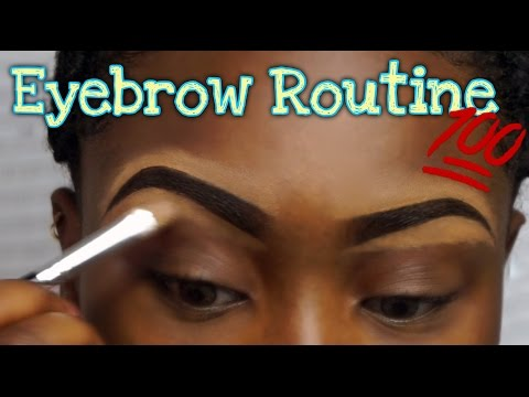 Eyebrow Routine | Natural Eyebrow Tutorial | Step By Step