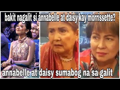 Annabelle at Daisy hindi mapigilan ang galit kay Morrissette Amon
