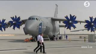 Dubai Airshow: Неймовірні злети і круті посадки Ан-132 / Невигадані історії