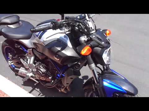 2016 Yamaha FZ-07 in Chula Vista, California - Video 1