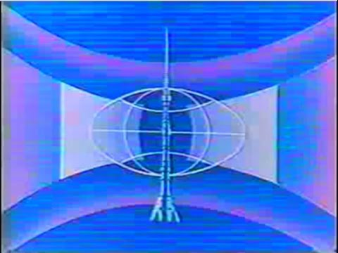 Окончание передач 1 канала Останкино 1993 г