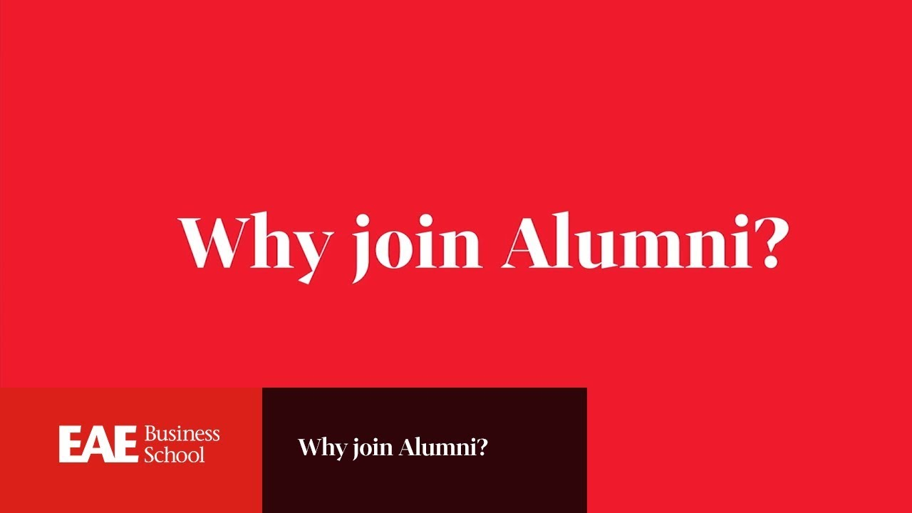 WHY JOIN ALUMNI