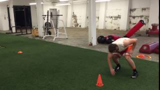 Pro Agility Drill- Change Direction2