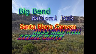 Ross Maxwell Scenic Drive | Cottonwood Campground  Big Bend National Park