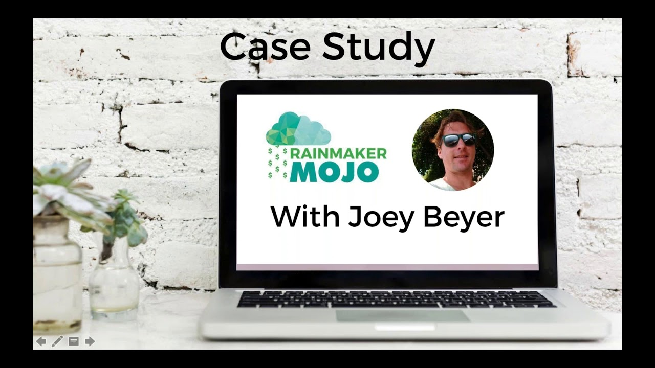 Testimonial from Joey Beyer - Rainmaker Mojo Success Story!!!