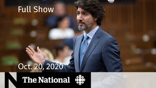 CBC News: The National   House of Commons debate leads to confidence vote   Oct. 20, 2020