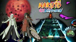 [Guitar Hero 3] Naruto Shippuden Opening 16 Full (Silhouette)