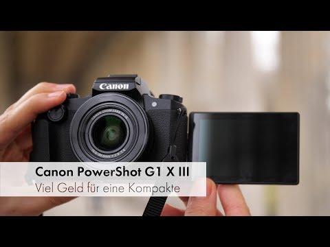 Canon PowerShot G1 X Mark III   Premium-Kompaktkamera für 1.100 Euro im Test [Deutsch]