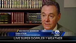 Dan Stein appeared on KOAT Action 7 News to discuss the deportation