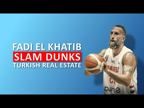 Fadi El Khatib becomes a Turkish Citizen