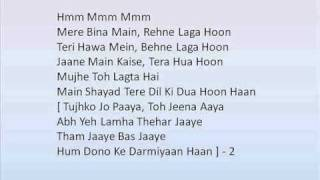 Crook Tujhko Jo Paaya song with lyrics