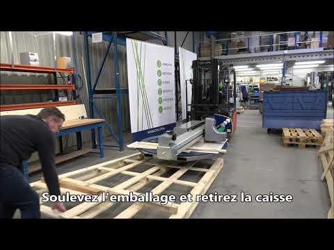 CTT 230: Déballer la machine