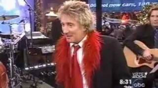 Rod Stewart - I've Got My Love To Keep Me Warm - Live GMA (TV)