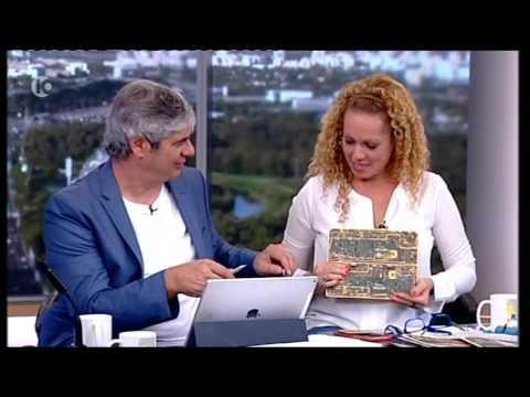 אורלי וגיא מארחים את אמנון שחרור בתוכנית הבוקר - הזהב שבפסולת אלקטרונית וחשמלית - 23/10/2016