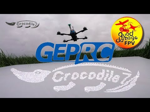 GEPRC Crocodile 7 Maiden Flight- March 2019 - From BangGood.com