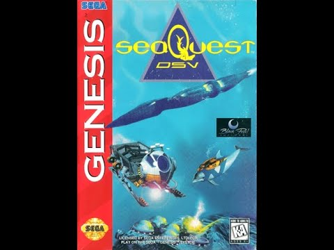 SeaQuest DSV Game Boy