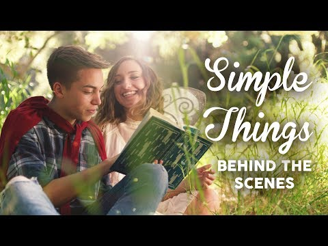 Behind the Scenes of Simple Things (Official Music Video BTS) | Brooklyn and Bailey