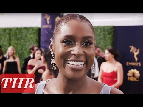 """, title : 'Issa Rae Talks Yacht Party, """"We're Young, We're Black, We're Doing What We Love""""   Emmys 2018'"""