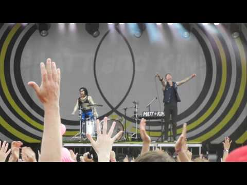 Opening Set - Matt & Kim Performing Live @ Free Press Summer Fest Houston 6/4/2016 Part 1