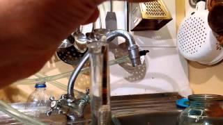 Самогонный аппарат Домовенок 8 из нержавейки, дистилляция 1,5 л/ч - видео 1