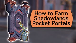 How to Farm Shadowlands Zone Portals and Lucy the Cat Pet - Live Stream Highlight