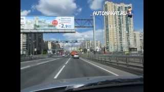 Проезд перекрестков на автомобиле с механической коробкой передач.