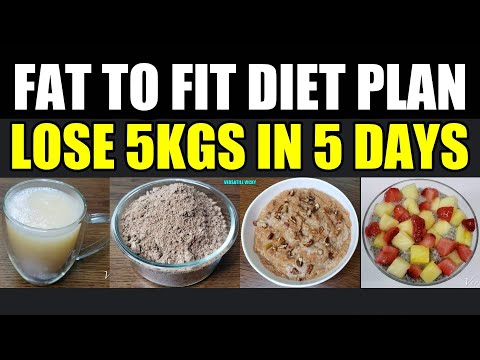 FSA Fat To Fit Diet Plan   Fat To Fit   Lose 5 Kgs In 5 Days