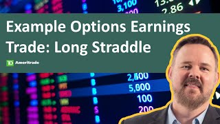 Active Trading Strategies | Cameron May | 9-8-20 | Example Options Earnings Trade: Long Straddle