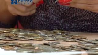 Школа дизайна №8   Панно из монет 4 09 13