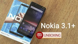 Nokia 3.1 Plus unboxing and quick review