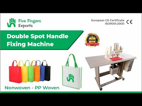 Bag Handle Cutting Machine