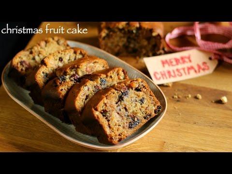 Video christmas cake recipe   fruit cake recipe   plum cake recipe