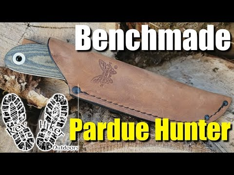 Benchmade Pardue Hunter Review & Testing #KnifeThursday Ep. 24 | RevHiker