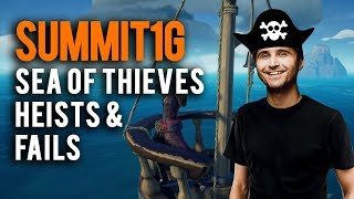 Sea of Thieves   Summit1G sneaking onto enemy ships and funny fails compilation