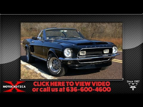 Video of Classic '68 Ford Mustang Offered by MotoeXotica Classic Cars - OE3E