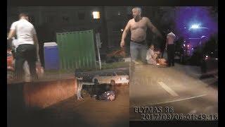 Драка на дороге и упал в беспамятстве в Сургуте