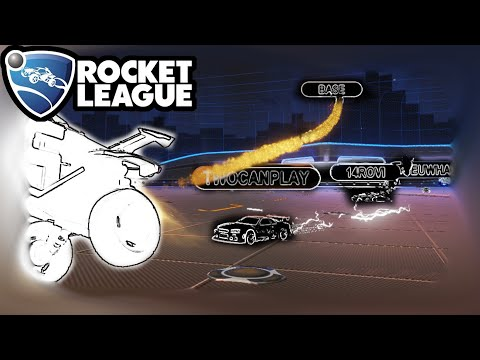 ROCKET LEAGUE 1 VS. 7 SURVIVAL IS CRAZY