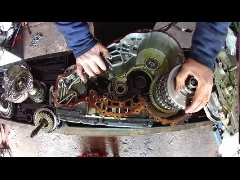 Фото к видео: How to dismantle and inspect Mercedes A class automatic gearbox.
