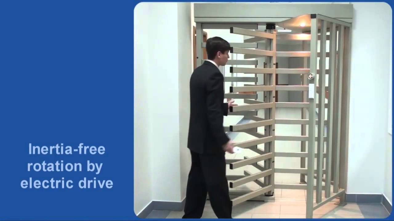 PERCo Full Height Turnstiles and Gates