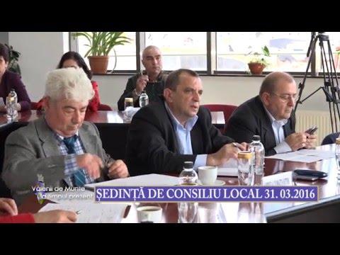 Emisiunea Vălenii de Munte la timpul prezent – 1 aprilie 2016 – Ședință Consiliul Local