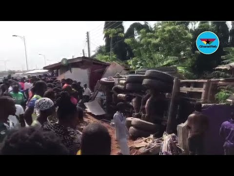 Accident: Truck driver survives death in accident at Taifa