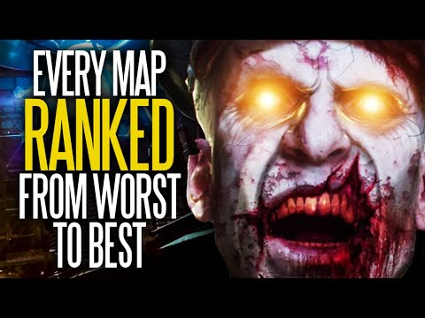 Call Of Duty: Every Zombies Map Ranked From Worst To Best