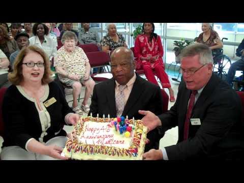 Rep. John Lewis Celebrates Medicare's 45th Anniversary