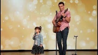 Adorable Father Daughter Duo Sings 'Señorita'