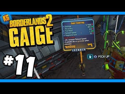 REVENGE OF THE GUNNERANG?! - Road to Ultimate Gaige - Day #11 [Borderlands 2]